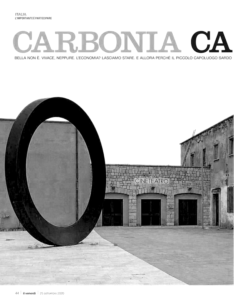 Carbonia, capitale contemporanea