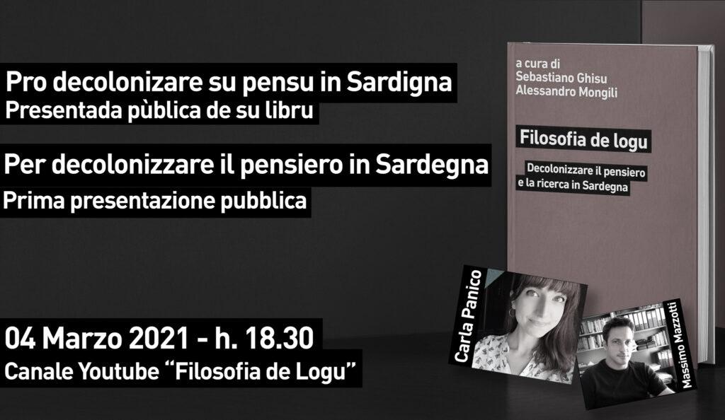 Per decolonizzare il pensiero in Sardegna: prima presentazione pubblica